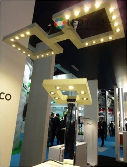 2010年香港国际秋季灯饰展led照明直击 led 照明灯泡与灯具高清图片